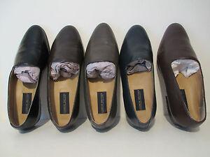 Giorgio Brutini Mens Crawley Genuine Kidskin Leather Slip On Pump Dress Loafers