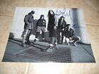 Pearl Jam Band Signed Autographed 11x14 Guitar Photo #1 x Mike & Dave F3 for sale