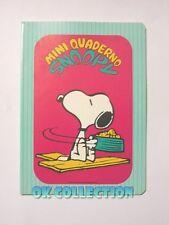 QUADERNO VINTAGE A5 righe _ SNOOPY MINI QUADERNO by Auguri Mondadori anno 1984 a