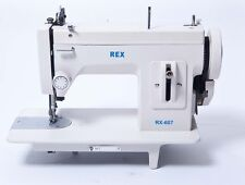 Walking Foot/Straight Stitch Sewing Machine,All Steel, Portable (similar to REX)