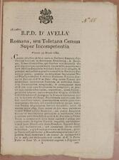 SENTENZA SACRA ROTA ROMA TOLETINO EMPORIO CREDITO GADITANO GIRARDELLI CENSO 1834
