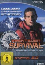 Bear Grylls ABENTEUER SURVIVAL  Ausgesetzt in der Wildnis 2 DVD Box 2.0