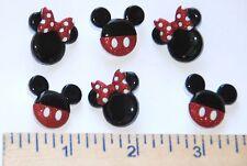 Mickey & Minnie ~ Disney License Buttons  / Jesse James Dress It Up / Shank Back
