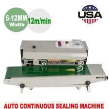 Continuous Band Sealer Horizontal Bag Sealing Machine For Food Medicine Industry
