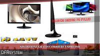 "MONITOR FULL HD PC SAMSUNG S22D300HY FULLHD hdmi LED BLACK 22 POLLICI 21,5"" NERO"