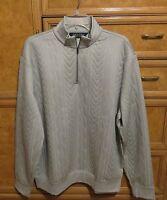 Men's Polo Ralph Lauren golf 1/4 zip pullover gray size XL brand new NWT $175