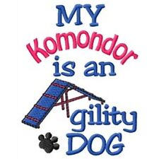 My Komondor is An Agility Dog Long-Sleeved T-Shirt Dc2058L Size S - Xxl