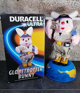 Duracell Ultra Globetrotter Bunny Collectable Toy ~ In Box Fully Working