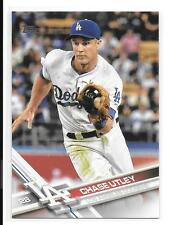 2017 Topps # 134 Chase Utley Los Angeles Dodgers baseball card