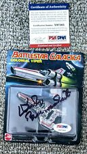 SDCC 2013 Hot Wheels Battlestar Galactica Colonial Viper Signed/ Authenticated