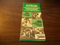 APRIL 1976 AMTRAK TIDEWATER-MIDWEST SERVICE PUBLIC TIMETABLE