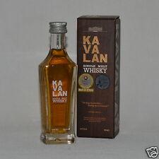 Kavalan taiwán (asia) Single Malt whisky 40% 50ml Mini