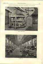 1892 Great Northern Railway Works Doncaster 3 Smith Shop Flange Machine