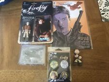 Mixed Lot of Firefly Serenity Malcom Reynolds Collectibles Comic Action Figure