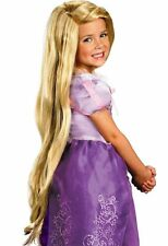 Rapunzel Wig Childs Girls Disney Princess Tangled  Long Blonde Hair