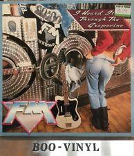 "FM (UK ROCK GROUP) I Heard It Through The Grapevine 12"" VINYL UK Mfn 1991"