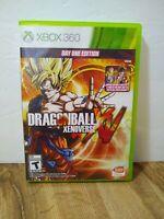 Dragon Ball XV XenoVerse (Microsoft Xbox 360, 2015) GUC No Manual Day One Ed.