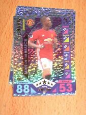 Serial Numbered Manchester United Football Trading Cards