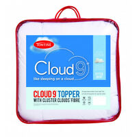 Tontine Cloud 9™ Mattress Topper With Cluster Clouds Fibre KING Size RRP $139.95