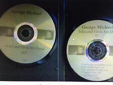 George Michael Unrelased dvd+cd John And Elvis Are Dead