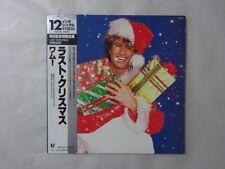 Wham! Last Christmas Epic 12 3P-575 Japan  VINYL EP OBI