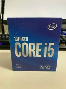 intel core i5-10400f, 6cores / 12 threads(NEW, Unopened)