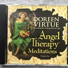 Angel Therapy Meditations CD Doreen Virtue Calming Healing Self Help Therapy EX