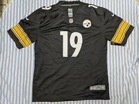 JuJu Smith Schuster #19 Pittsburgh Steelers Black Jersey