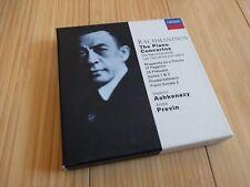 Rachmaninov: The Piano Concertos (CD, Aug-1997, 6 Discs, London)