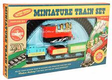 Miniature Railway Train Set - Battery Operated