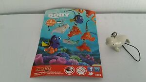 Bailey from Finding Dory 3d danglers, keychains, charms