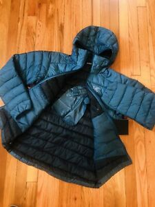 NEW! ARCTERYX Men Cerium LT Hoody Jacket—850 Goose Down Fill—(S)—ILIAD Blue $379