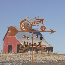 Farmall Tractor Weathervane - Farm - Weather Vane - Complete w/ Choice of Mount