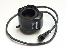 "Computar CS TV Lens 12mm f1.4 1/2"" For CCTV Security Camera (Long Cable)"