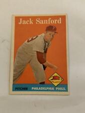 Philadelphia Phillies Cards Topps Baseball Lot of 6 50's & 60's