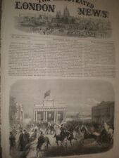Ireland Dublin International Exhibition West Entrance 1865 print ref T