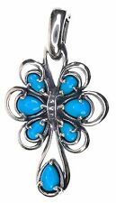 Carolyn Pollack Turquoise Sterling Silver Enhancer