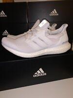 Adidas Ultra Boost 4.0 Triple White Men's Running Shoe BB6168