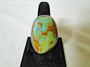 Royston Turquoise ring, handmade, unmarked
