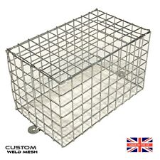 Wire mesh guards CCTV camera cage Lights anti vandal Bespoke sizes *UK Made*