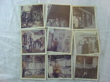 Lot of 9 Vintage 1960s Photos New Orleans St Louis Cemetery 773009