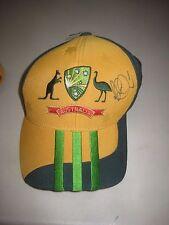 Michael Clarke (Australia) Former Captain : Signed Australian ODI Cricket Cap