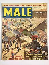Male Magazine-Action Men Man;September 1958 (9/58) VG+ Dutch Call Girls Spy Ring