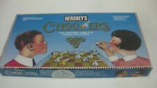 Hershey's Chockers Board Game Checkers Game For Chocolate Lovers 1991      gm506