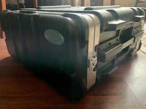SKB Rack Flight Case 4U - Audio Rack / Carry Case / Flightcase