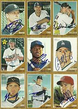 2011 Topps Heritage ERIC SOGARD Signed Card A'S autograph BREWERS NERD POWER