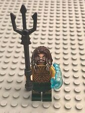 New Lego Battle of Atlantis - Aquaman Minifig with trident and shooter 76085