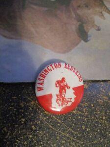 """Original 1940's Washington Redskins 1&3/4"""" Pin"""