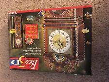 Milton Bradley Puzz 3-D, Grandfather Clock, challenging, 777 pieces