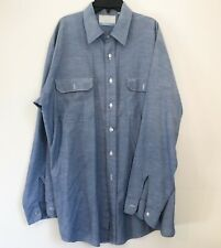 Sears Field master Men's XL Tall 17 - 17 1/2 Vintage Long Sleeve USA made